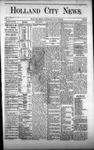 Holland City News, Volume 1, Number 23: July 27, 1872