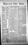 Holland City News, Volume 1, Number 24: August 3, 1872