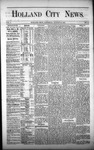 Holland City News, Volume 1, Number 28: August 31, 1872
