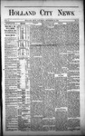 Holland City News, Volume 1, Number 30: September 14, 1872