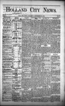 Holland City News, Volume 1, Number 31: September 21, 1872