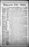 Holland City News, Volume 1, Number 32: September 28, 1872