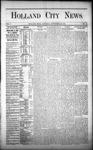 Holland City News, Volume 1, Number 32: September 28, 1872