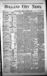Holland City News, Volume 1, Number 33: October 5, 1872
