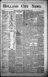 Holland City News, Volume 1, Number 38: November 9, 1872