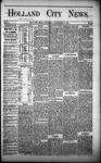 Holland City News, Volume 1, Number 39: November 16, 1872
