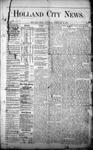 Holland City News, Volume 1, Number 1: February 24, 1872