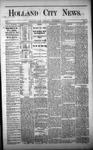 Holland City News, Volume 1, Number 44: December 21, 1872