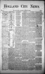 Holland City News, Volume 1, Number 48: January 18, 1873