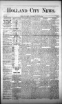 Holland City News, Volume 2, Number 23: July 26, 1873 by Holland City News