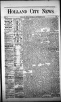 Holland City News, Volume 2, Number 31: September 20, 1873 by Holland City News