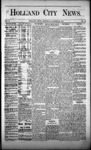 Holland City News, Volume 2, Number 36: October 25, 1873 by Holland City News