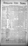 Holland City News, Volume 2, Number 43: December 13, 1873 by Holland City News