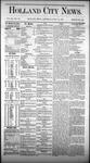 Holland City News, Volume 3, Number 22: July 18, 1874