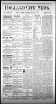 Holland City News, Volume 3, Number 24: August 1, 1874 by Holland City News