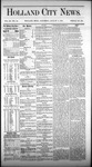 Holland City News, Volume 3, Number 25: August 8, 1874 by Holland City News