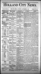 Holland City News, Volume 3, Number 29: September 5, 1874 by Holland City News