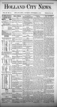 Holland City News, Volume 3, Number 31: September 19, 1874 by Holland City News