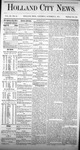 Holland City News, Volume 3, Number 35: October 17, 1874 by Holland City News