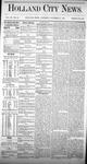 Holland City News, Volume 3, Number 35: October 17, 1874