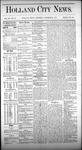 Holland City News, Volume 3, Number 36: October 24, 1874