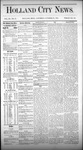 Holland City News, Volume 3, Number 37: October 31, 1874 by Holland City News