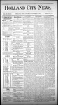 Holland City News, Volume 3, Number 38: November 7, 1874 by Holland City News