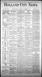 Holland City News, Volume 3, Number 39: November 14, 1874 by Holland City News