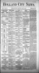 Holland City News, Volume 4, Number 13: May 15, 1875
