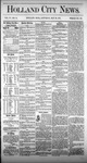 Holland City News, Volume 4, Number 14: May 22, 1875