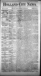 Holland City News, Volume 4, Number 23: July 24, 1875 by Holland City News