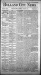 Holland City News, Volume 4, Number 25: August 7, 1875 by Holland City News