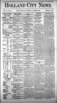 Holland City News, Volume 4, Number 34: October 9, 1875 by Holland City News
