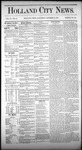 Holland City News, Volume 4, Number 35: October 16, 1875 by Holland City News