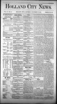 Holland City News, Volume 4, Number 41: November 27, 1875 by Holland City News
