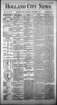 Holland City News, Volume 4, Number 43: December 11, 1875 by Holland City News