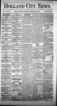 Holland City News, Volume 5, Number 2: February 26, 1876 by Holland City News
