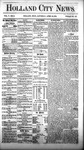 Holland City News, Volume 5, Number 9: April 15, 1876 by Holland City News