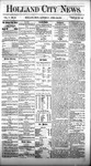 Holland City News, Volume 5, Number 10: April 22, 1876