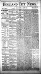 Holland City News, Volume 5, Number 16: June 3, 1876