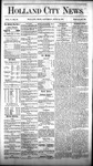 Holland City News, Volume 5, Number 19: June 24, 1876 by Holland City News
