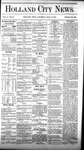 Holland City News, Volume 5, Number 22: July 15, 1876 by Holland City News