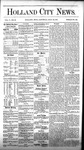 Holland City News, Volume 5, Number 23: July 22, 1876 by Holland City News