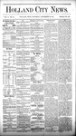 Holland City News, Volume 5, Number 31: September 16, 1876 by Holland City News