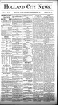 Holland City News, Volume 5, Number 32: September 23, 1876 by Holland City News