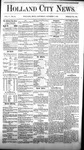 Holland City News, Volume 5, Number 34: October 7, 1876 by Holland City News