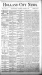 Holland City News, Volume 5, Number 47: January 6, 1877