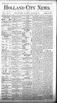Holland City News, Volume 5, Number 49: January 20, 1877