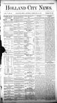 Holland City News, Volume 5, Number 52: February 10, 1877