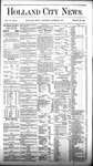 Holland City News, Volume 6, Number 6: March 24, 1877